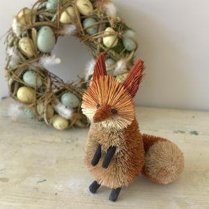 Brush Fox Decoration