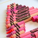 crayola in pinks
