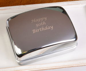 Personalised Cufflink Box - accessories
