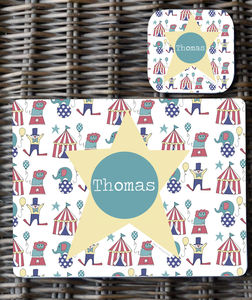 Personalised Placemat Boy's Designs - placemats & coasters