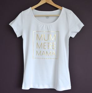 Personalised 'Mama' T Shirt