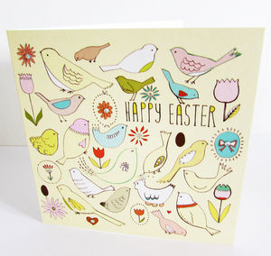 'Tweet' Easter Card