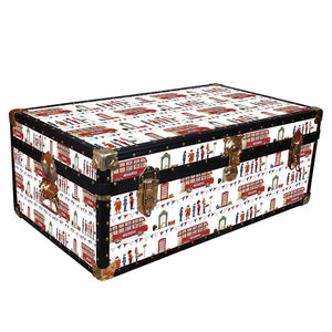 London Bus Trunk - chests & blanket boxes