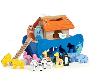Wooden Noah's Ark Shape Sorter - traditional toys & games
