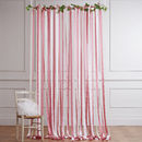 Pink And Cream Wedding Backdrop