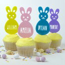 Personalised Easter Bunny Cake Topper