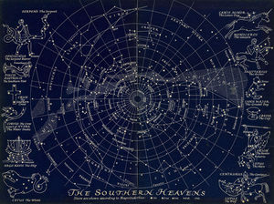 Map Of The Southern Stars