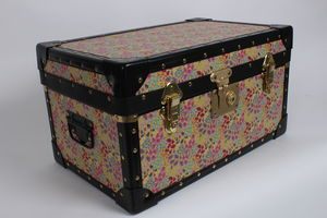 Yellow Floral Tuck Box - boxes, trunks & crates