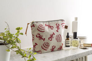 Lobster Pot Wash Bag - travel bags & luggage