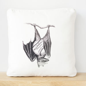 Baseball Bat Screen Printed Cushion