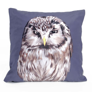 Owl Cushion - decorative accessories