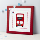 New Baby London Bus Print