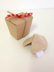 Felt Fortune Cookie - toys & games