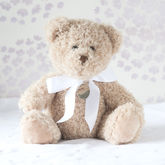 Personalised Bramble Christening Bear - baby & child