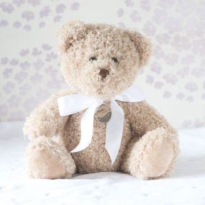 Personalised Bramble Christening Bear - woodland trend