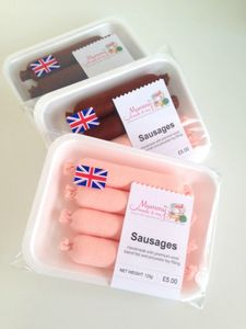 Pretend Play Felt Food Sausages - toys & games