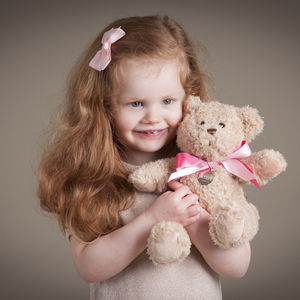 Thank You Little Bridesmaid / Pageboy Bear - soft toys & dolls