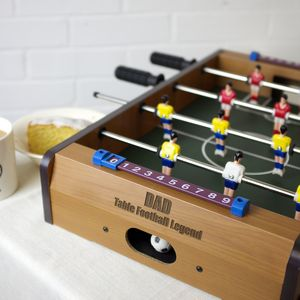 Personalised Table Top Football Game - traditional toys & games
