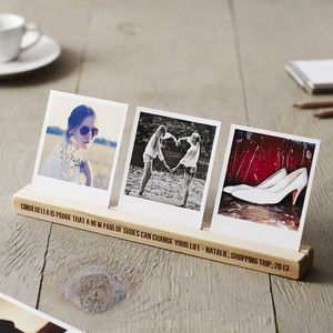 Personalised Photo Block For Her - picture frames