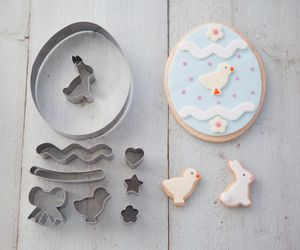 Easter Egg Cookie Cutter Set - children's easter