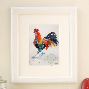 Chicken Print, Mrs Peck