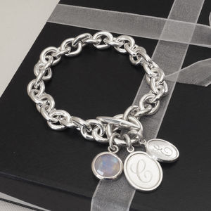 Personalised Chunky Link Bracelet - bracelets & bangles