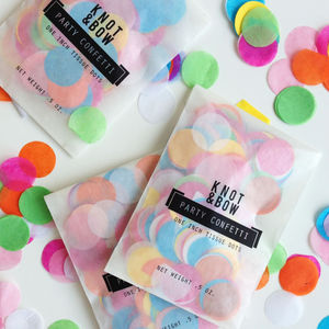 Party Tissue Paper Confetti Multi Serving - petals & confetti
