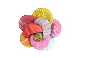 Linen Flower Brooch