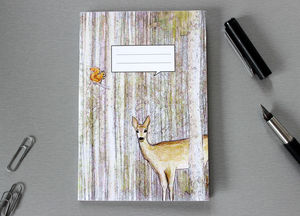 Woodland Blank Notebook - writing