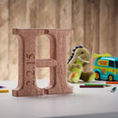 Personalised Carved Christening Letter