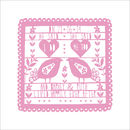 Personalised Papercut Style Print 'I do'