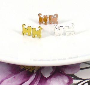 Cat Earrings In Sterling Silver