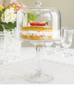 Glass Cake Stand - cake stands