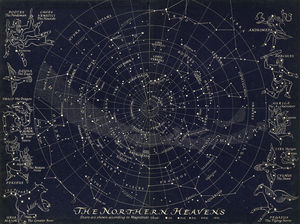 Map Of The Northern Stars