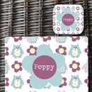Girls Personalised Place Mat