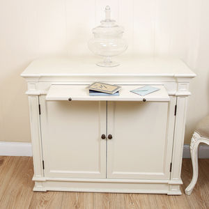 Farmhouse Sideboard With Hidden Desk - furniture