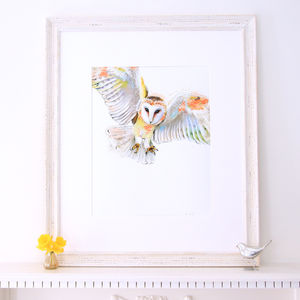 Lola Design Owl Fine Art Print - contemporary art