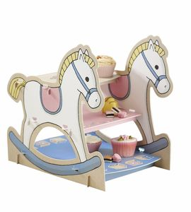 Baby Shower Rocking Horse Cake Stand