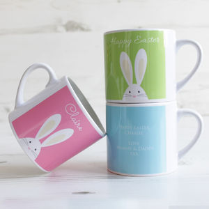 Personalised Child's Easter Bunny Mini Mug - for babies & children