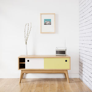 Mid Century Media Cabinet - artisan homeware