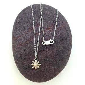 Silver Daisy Necklace - necklaces & pendants