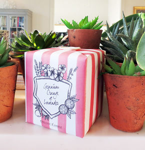Hand Wrapped Scented Candle - candles & candlesticks
