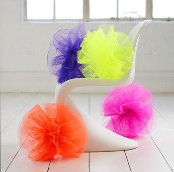 Neon Pom Pom Decoration
