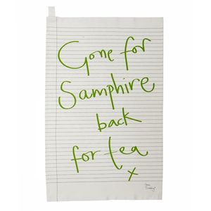 Gone For Samphire Tea Towel