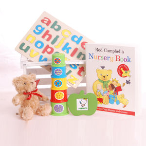 Stacking Toy Toddler Gift Box - toys & games