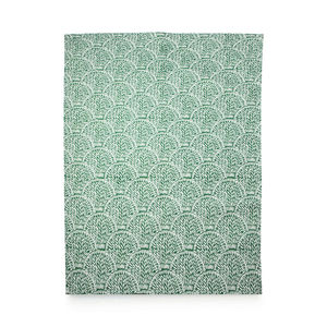 Shell Linen Tea Towel