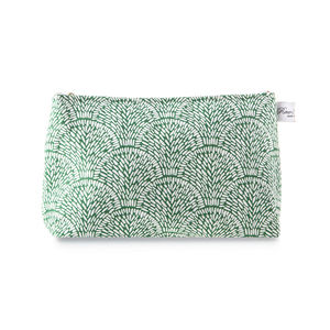 Shell Linen Wash Bag