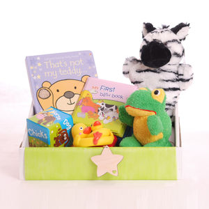 Bath Time Toddler Gift Box - board games & puzzles