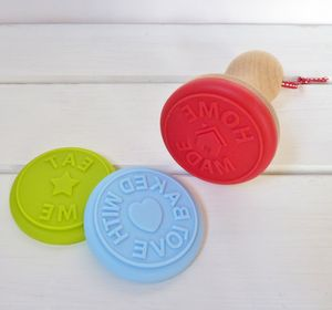 25% Off Three Interchangeable Silicone Cookie Stamps