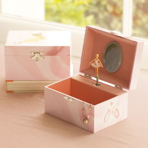 Ballerina Musical Jewelry Box For Little Girls - jewellery storage & trinket boxes